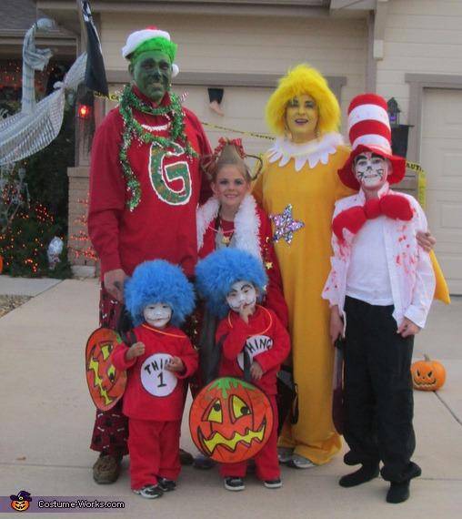 Dr Seuss Costumes Ideas For Kids