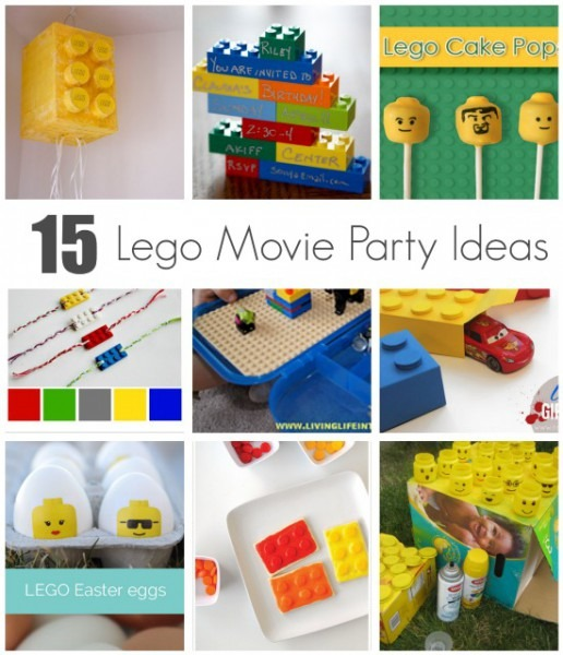 Celebrate With 15 Lego Movie Party Ideas