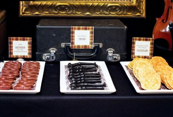 Sherlock Holmes Themed Birthday Party {mystery, Ideas, Supplies