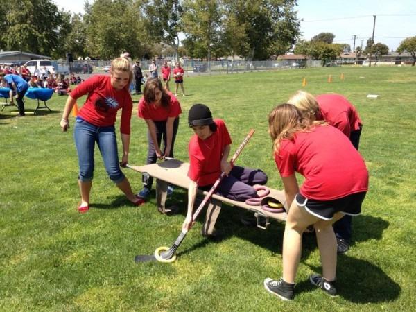 2012 Middle School Survivor Games Grace Lutheran School Team