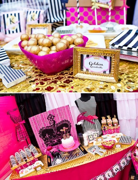 Glitter & Glam Favorite Things Party {adult Birthday