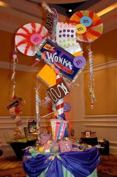 Wonka Room Centerpiece