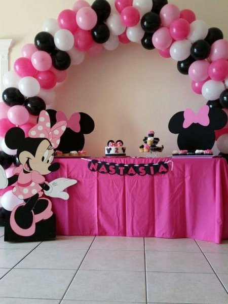 Minnie Mouse Polka Dots Birthday Party Ideas In 2019