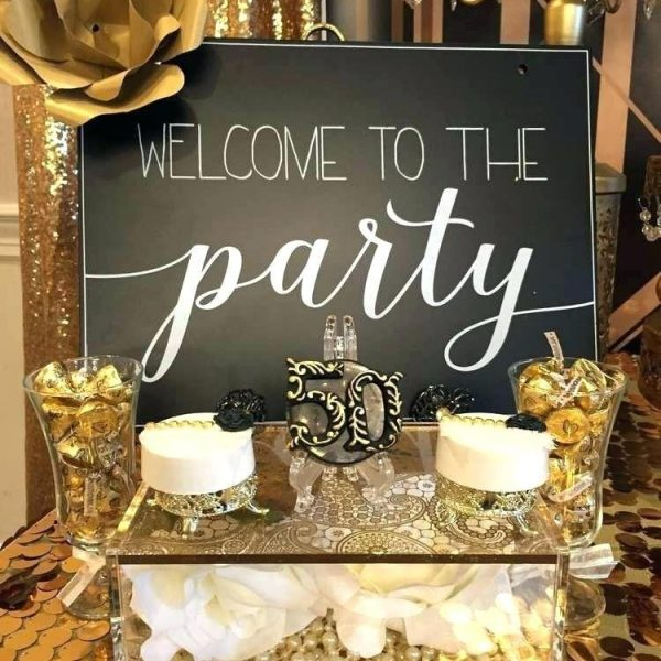 50th Birthday Party Ideas For Husband Birthday Themes For Women