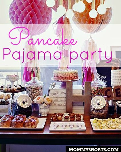 A Pancake And Pajama Party For Harlow's 1st Birthday