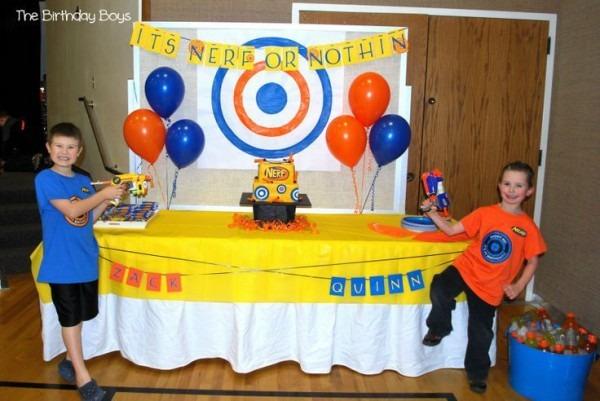 Nerf Gun Birthday Party Supplies