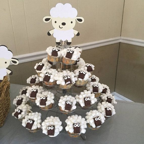 Lamb Baby Shower Decorations