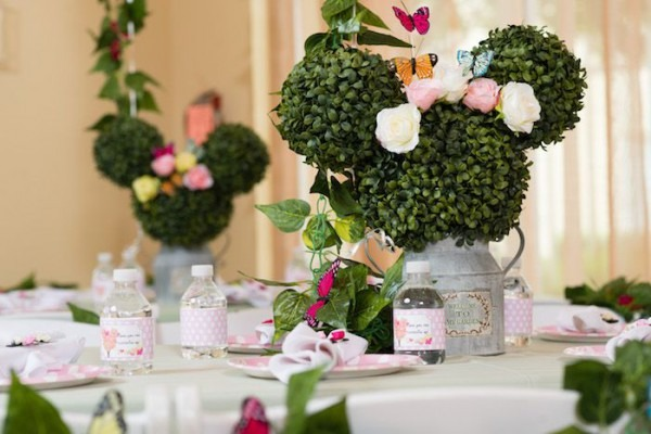 Minnie Mouse Inspired Butterfly Garden Party