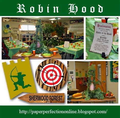 Robin Hood Party Printables