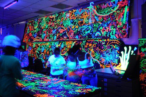 Neon Graffiti Party