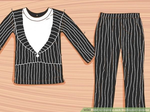 How To Create A Jack Skellington Costume  14 Steps (with Pictures)