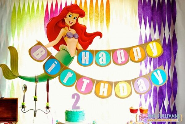 Little Mermaid Party  Sadie Is 2!