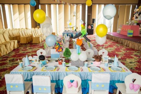 Kara's Party Ideas Baby Mickey & Friends Birthday Party