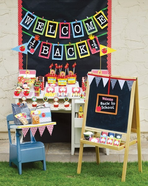 Back To School Party Ideas {+ Free Printables}    Hostess With The