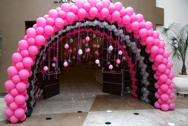 Ballons Barbie Party Decoration