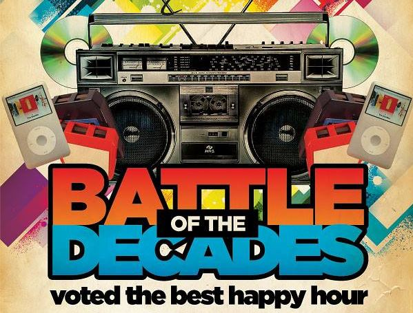 $1 Drink Fridays   Battle Of The Decades  Dj Party