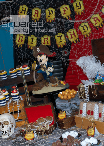 Mickey's Pirates Of The Caribbean Party