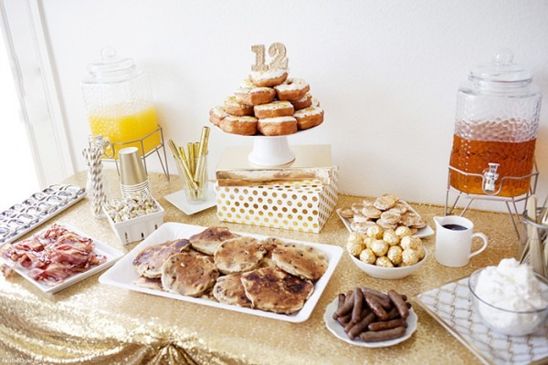 Breakfast Birthday Celebration Ideas