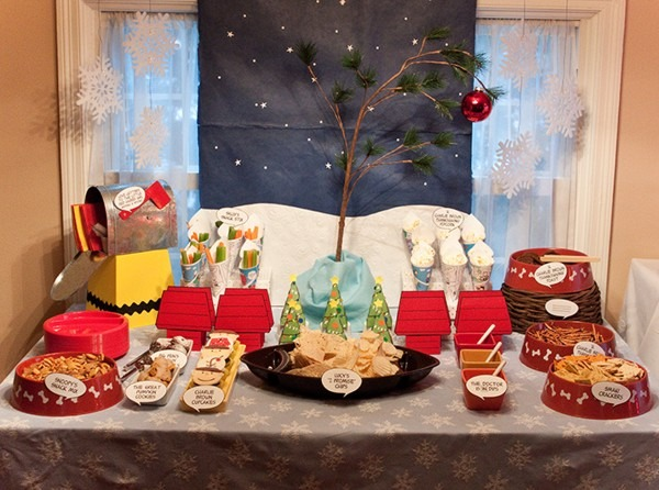 Real Parties} A Charlie Brown Inspired Birthday