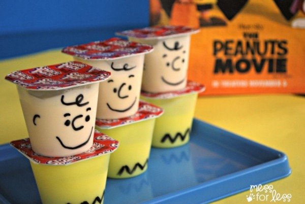 Peanuts Charlie Brown Pudding Snack