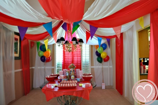 Circus Party  Big Top Baby Shower