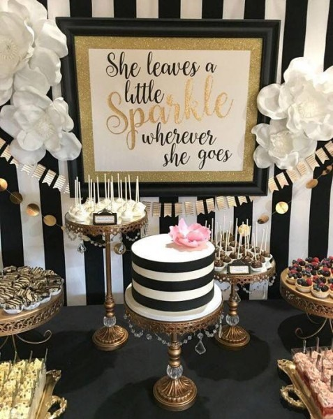 Classy Birthday Table Decorations Charming Elegant Party Themes