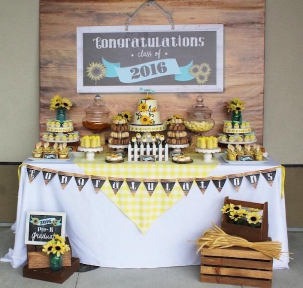 Kara's Party Ideas Country Fair Graduation Party