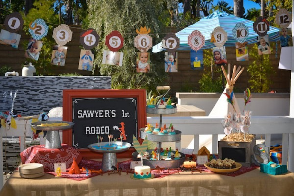 Kara's Party Ideas Cowboys & Indians Themed Birthday Party