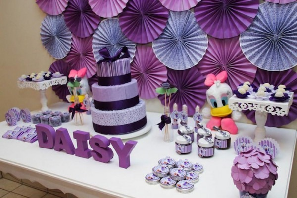 Kara's Party Ideas Daisy Duck Birthday Party {ideas, Decor, Disney