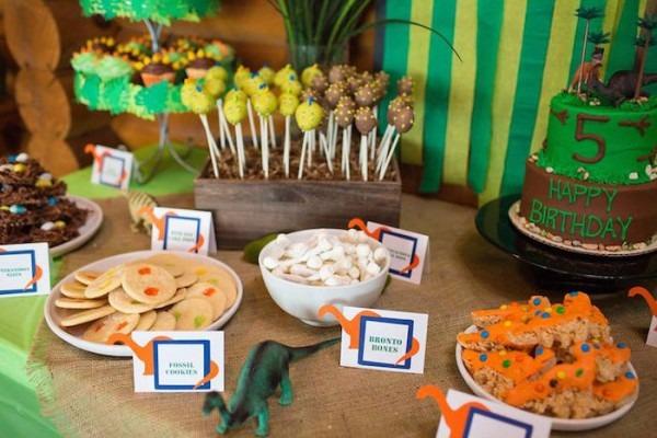Kara's Party Ideas Dinosaur 5th Birthday Party