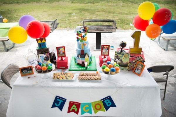Karas Party Ideas Disneys Up Themed Birthday