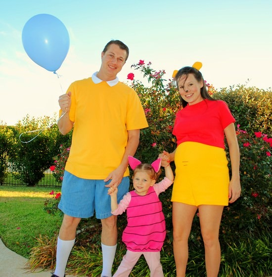 Winnie The Pooh Easy Diy Family Costumes – Tip Junkie