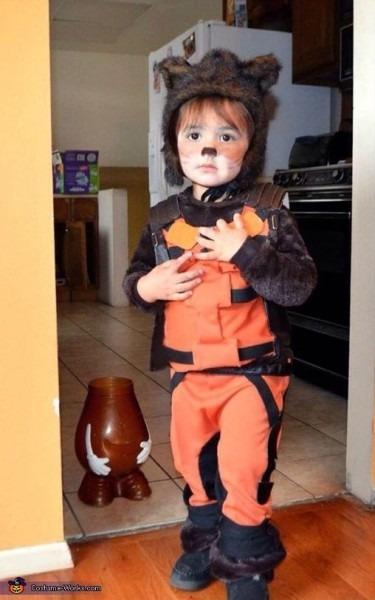 Little Rocket Raccoon