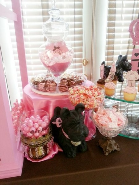 Juicy Couture Baby Shower Party Ideas
