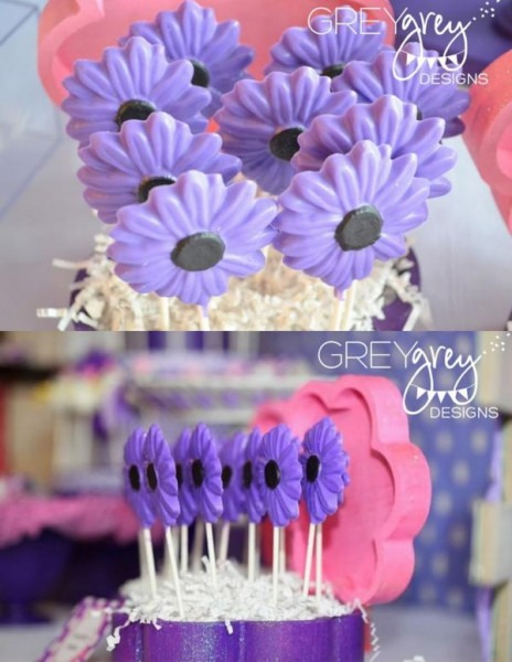 Kara's Party Ideas Disney Daisy Duck Purple Girl 2nd Birthday