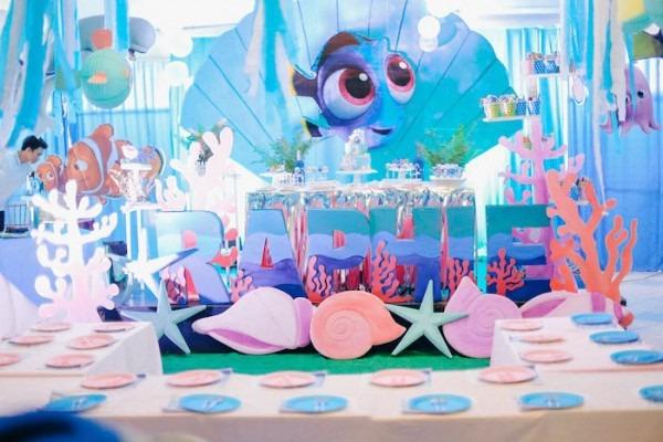 Kara's Party Ideas Finding Dory Under The Sea Birthday Party