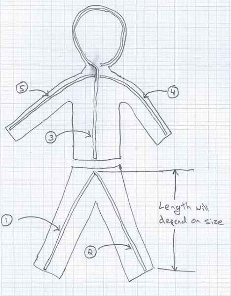 Diy Led Stick Figure Costume  7 Steps (with Pictures)