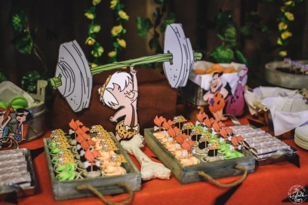 Kara's Party Ideas Flintstones Inspired Birthday Party