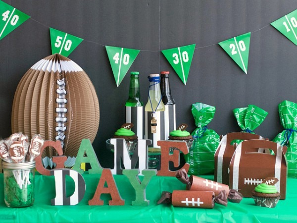 Game Day Football Birthday Party – Fun