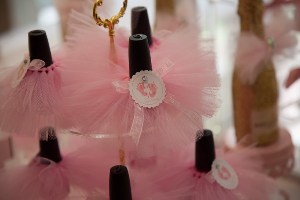Pink And Gold Tutu Cute Baby Shower