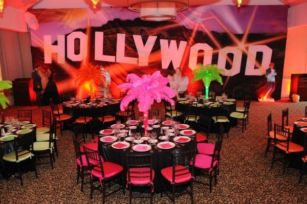 Hollywood Theme Bat Bar Mitzvah Sweet 16 Party Party Theme Ideas