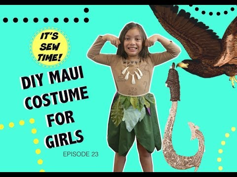 The Easiest Diy Maui Costume, Men Shirt Transformations