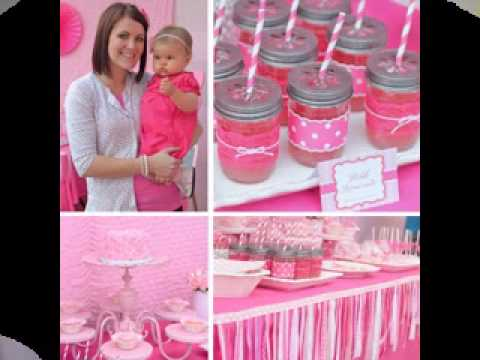Cute First Birthday Party Ideas For Girls