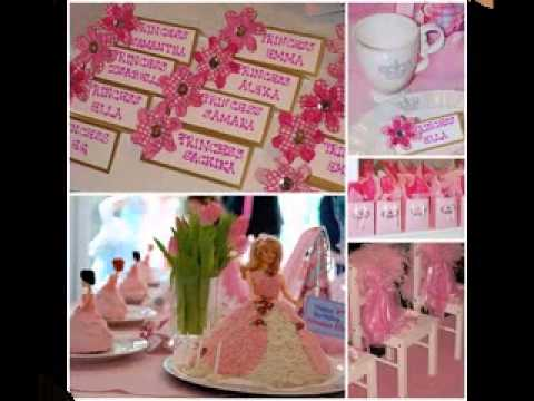 Diy Barbie Birthday Party Decorating Ideas