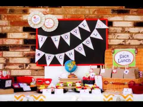 Diy Back To School Party Decorating Ideas