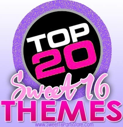 Top 20 Sweet 16 Party Themes