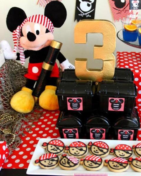 Kara's Party Ideas Mickey Mouse Pirate Boy Disney Themed Birthday