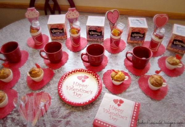 Ladies Day In Party Ideas, And Tea Party Planning With Kleenex