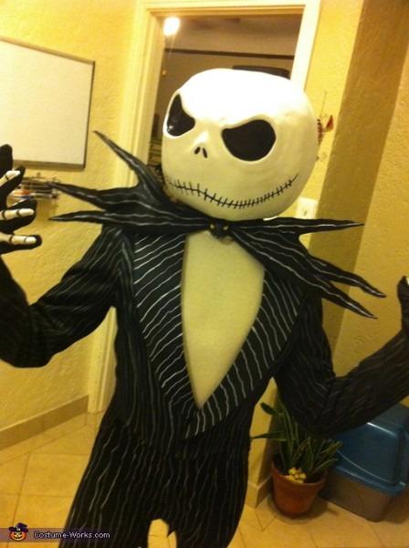 Diy Jack Skellington Adult Costume