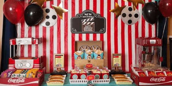 Movie Party Ideas For Kids